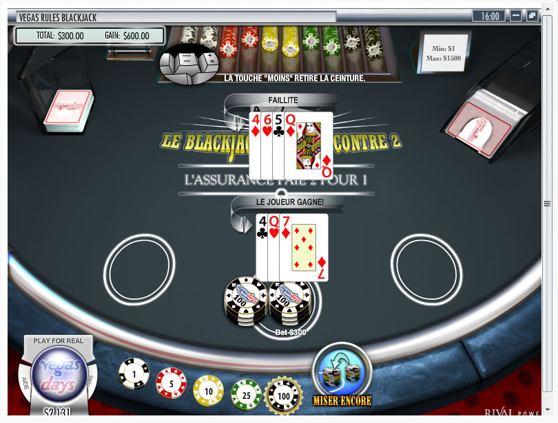 Blackjack de CasinoExtra