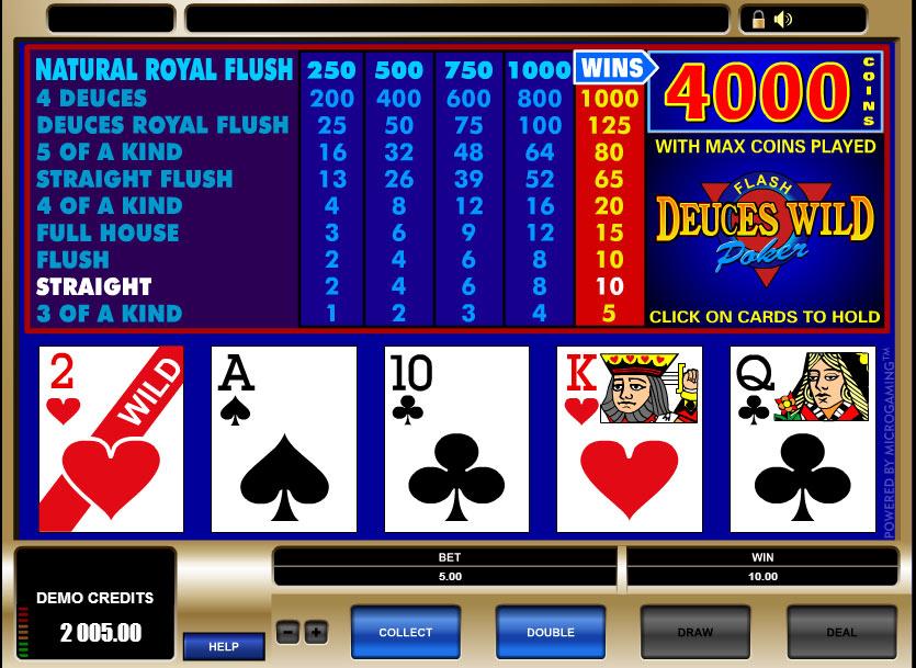 Astuces au vidéo poker
