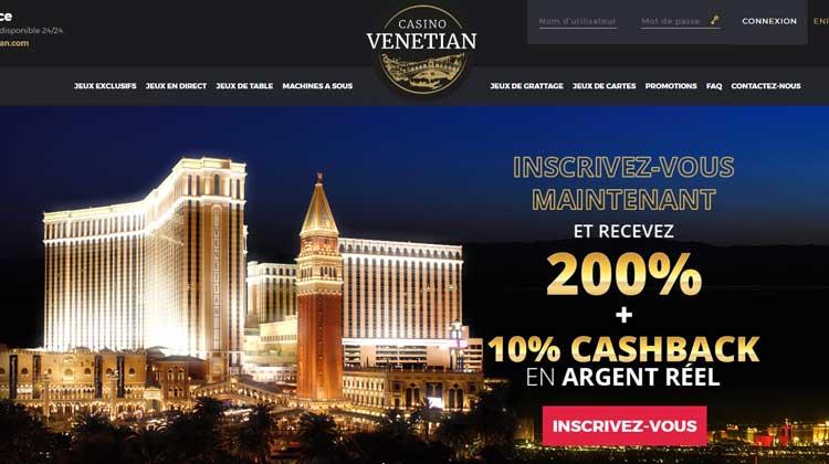 Avis Casino Venetian